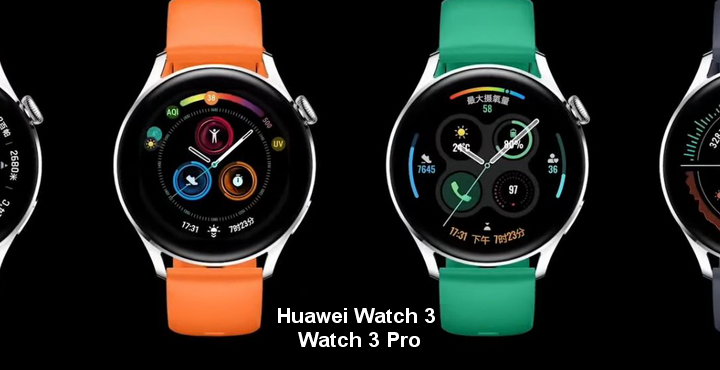 Difference and price between Huawei Watch 3 and Watch 3 Pro