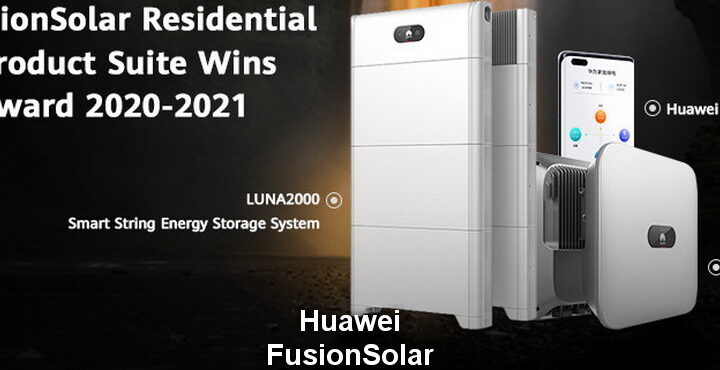Huawei FusionSolar Residential Smart PV Product Package