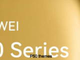 Download custom themes for Huawei P50 series