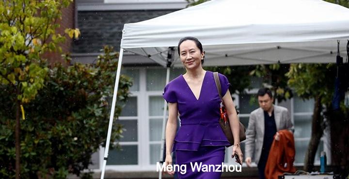 Denounce US misconduct and set Meng Wanzhou free