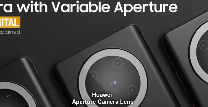 Huawei Working on Aperture Camera Lens