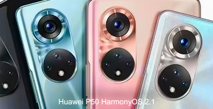 Huawei P50 HarmonyOS 2.1, what are its features