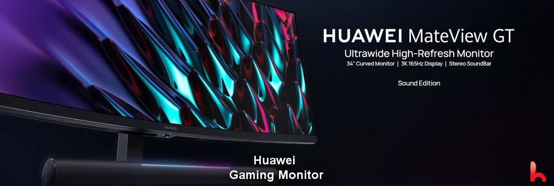 Huawei announces gaming monitor MateView GT, price and specs