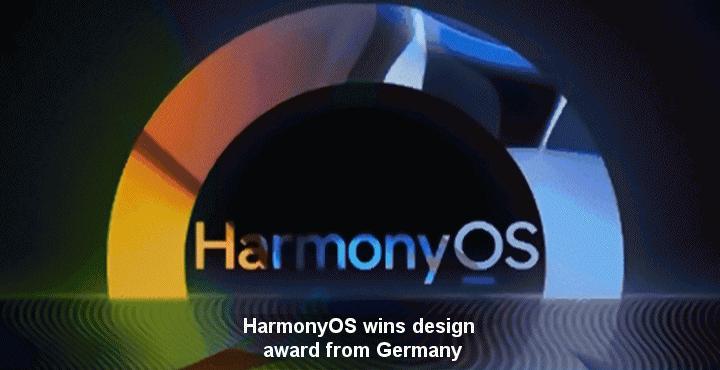 HarmonyOS wins design award from Germany