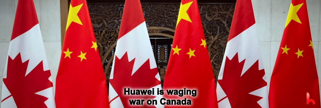 Huawei is waging war on Canada. Huawei may decide to withdraw from Canada and not grant 5G patents