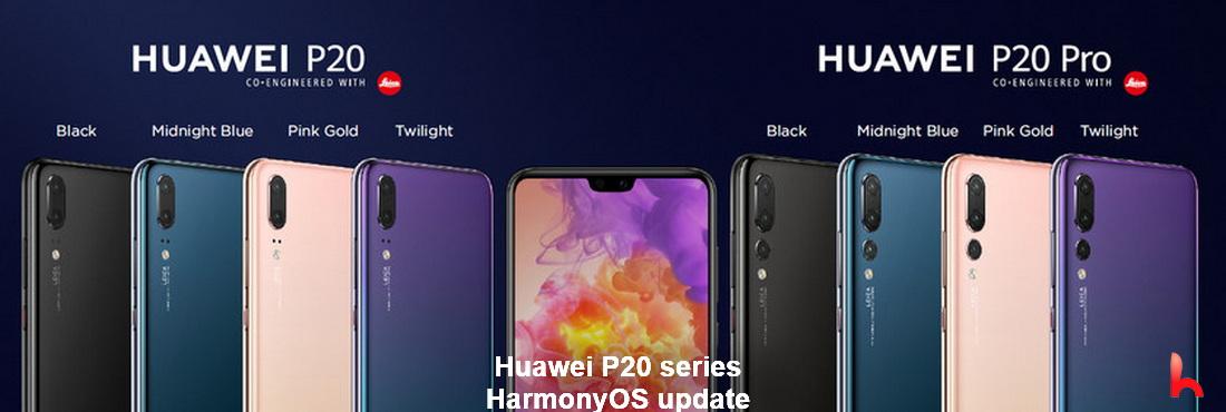 Huawei P20 series, HarmonyOS update for beta users