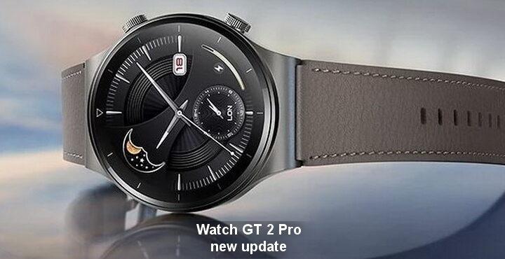Watch GT 2 Pro new update released, 11.0.6.26