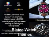 Download Huawei Watch Faces Themes in digital format, partnership of Huawei and Biatec