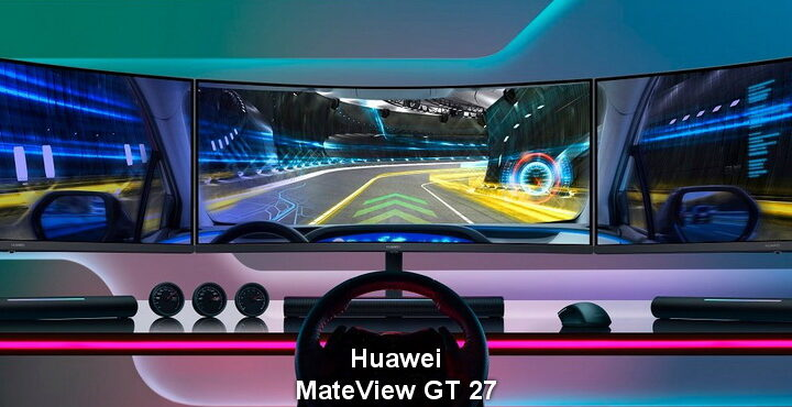 Huawei, curved monitor MateView GT 27