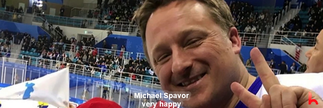 Michael Spavor 'very happy' to be reunited with family