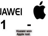 Huawei won, Apple lost. Huawei 1 – 0 Apple may use the name Huawei MatePod