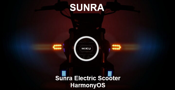 Sunra electric scooter will come with HarmonyOS